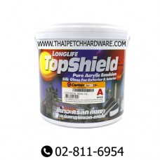 Captian Topshield Semi-Gloss Acrylic Paint for Exterior
