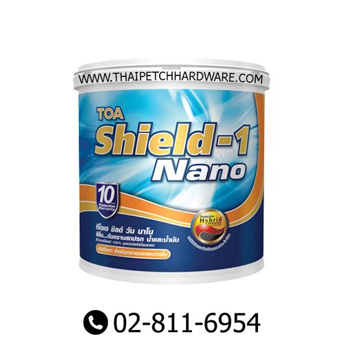 TOA SHIELD-1 NANO SEMI-GLOSS EXTERIOR PAINT (18L)