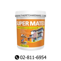 TOA SUPER MATEX SEMI-GLOSS EXTERIOR PAINT (9L)