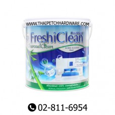 Captain Freshi Clean Semi-gloss Acrylic Paint for Interior