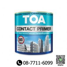 สีรองพื้นปูนเก่า ทีโอเอ คอนแทคไพรเมอร์ (แกลอน) TOA Contact Primer