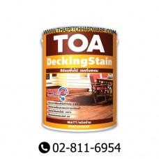 TOA DeckingStain Matt (wood coating for exterior)(1GL)