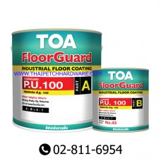 TOA Floorguard PU 100 for exterior floor