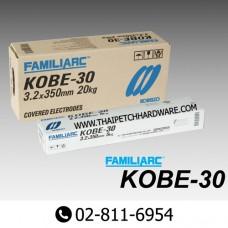 ลวดเชื่อมเหล็ก โกเบ KOBE รุ่น KOBE-30 ขนาด 2.6 มม.
